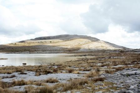 Mullaghmore mountain, the Burren, County Clare