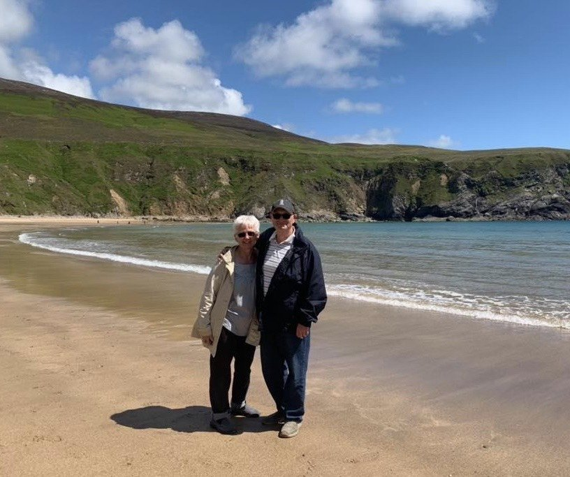 Pete & Anda Kett, Malin Beg, County Donegal