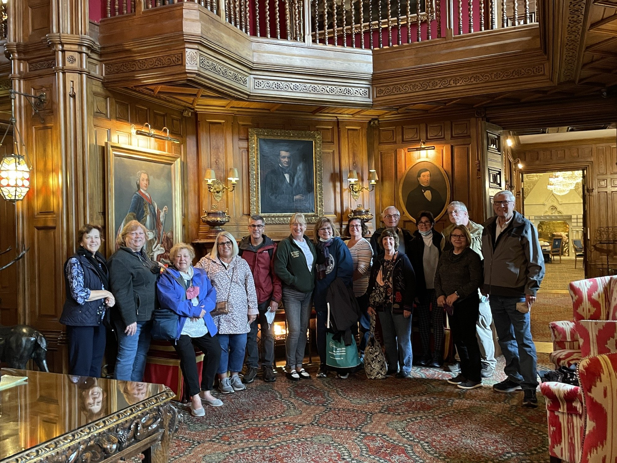 September 2021 Reunion Tour Group, Ashford Castle, County Galway