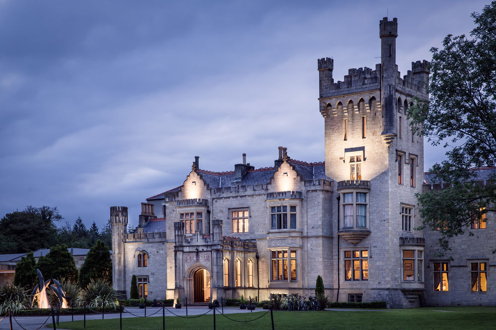 Lough Eske Castle in Donegal, where we will be staying for 2 nights.