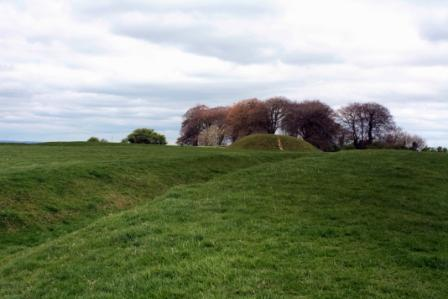 Mound of the Hostages at Tara in County Meath.