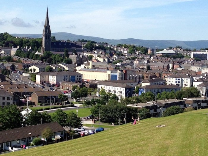 The Bogside, Derry, Northern Ireland
