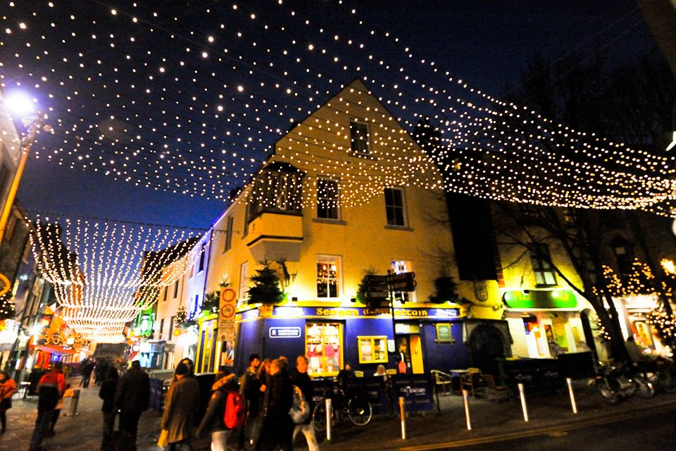 Christmas in Galway, photo credit Sean Tomkins