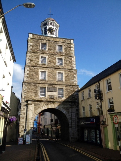 The Clock Tower in Youghal, County Cork